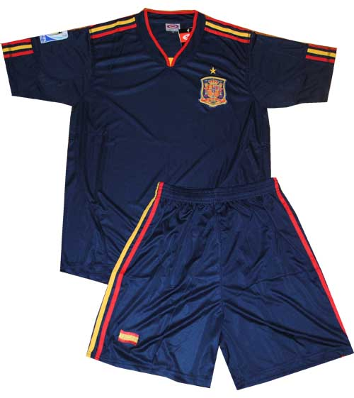 Сборная испании по футболу 2010 форма