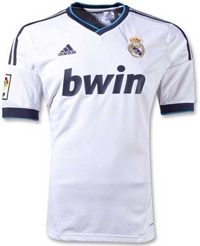 d98910d15d3e64 ... Футбольная форма Реал Мадрид 2012-2013 белая