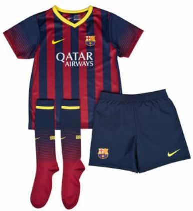 ad1b10c27464 Форма футбольная Барселона ДЕТСКАЯ NIKE 2013 14 (домашняя), купить ...