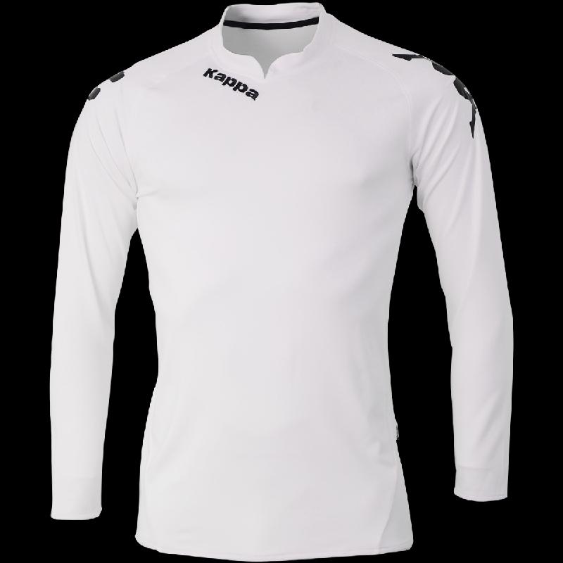Футбольная форма с длинным рукавом KAPPA4SOCCER 301TLA0-белая ... 2f9d782969c